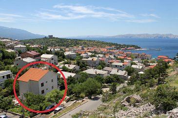 Property Senj (Senj) - Accommodation 5562 - Apartments with pebble beach.
