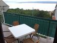 Balcony - Apartment A-5576-b - Apartments Dramalj (Crikvenica) - 5576