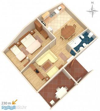 Apartment A-5582-b - Apartments Novi Vinodolski (Novi Vinodolski) - 5582