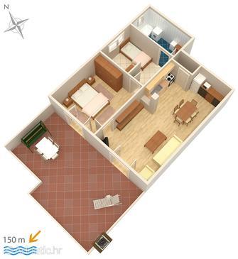 Apartment A-5585-a - Apartments Crikvenica (Crikvenica) - 5585