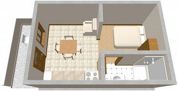 Studio flat AS-559-a - Apartments Tri Žala (Korčula) - 559