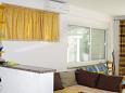Sutivan, Living room u smještaju tipa apartment, dostupna klima i WIFI.