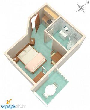 Studio flat AS-5631-a - Apartments Bol (Brač) - 5631