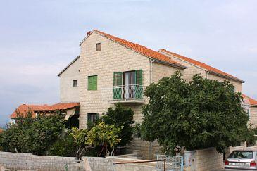 Obiekt Supetar (Brač) - Zakwaterowanie 5667 - Apartamenty ze żwirową plażą.