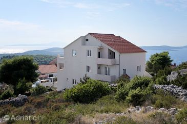 Property Hvar (Hvar) - Accommodation 5686 - Apartments with pebble beach.
