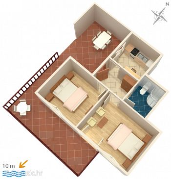 Apartment A-5688-e - Apartments Hvar (Hvar) - 5688