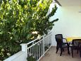 Terrace - Studio flat AS-5697-a - Apartments Stari Grad (Hvar) - 5697