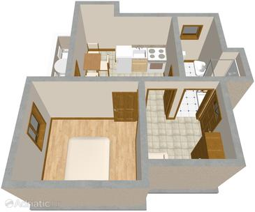 Apartment A-571-b - Apartments Žrnovska Banja (Korčula) - 571