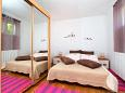 Bedroom - Studio flat AS-5723-a - Apartments Jelsa (Hvar) - 5723