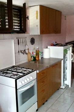 Uvala Tatinja, Kitchen u smještaju tipa apartment, dopusteni kucni ljubimci.