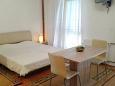 Stari Grad, Bedroom u smještaju tipa studio-apartment, dostupna klima, dopusteni kucni ljubimci i WIFI.