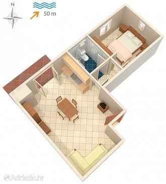 Apartment A-5766-a - Apartments and Rooms Ražanac (Zadar) - 5766