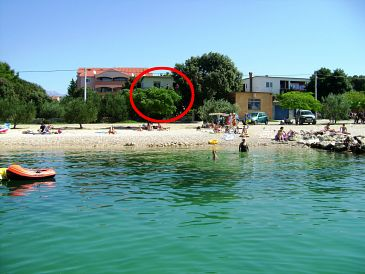 Property Vrsi - Mulo (Zadar) - Accommodation 5790 - Apartments near sea with pebble beach.