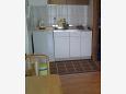 Zadar - Diklo, Kitchen u smještaju tipa studio-apartment, WIFI.