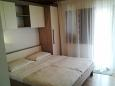 Zadar - Diklo, Bedroom u smještaju tipa studio-apartment, dostupna klima i WIFI.