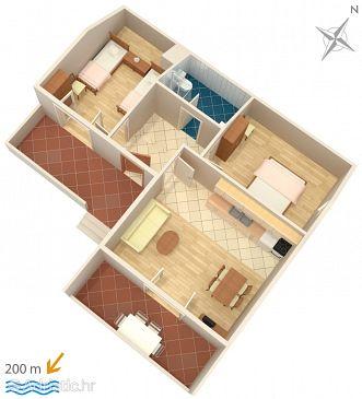 Apartment A-5796-d - Apartments Vrsi - Mulo (Zadar) - 5796