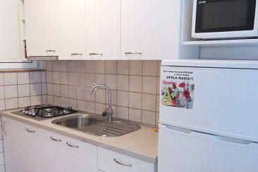 Kožino, Kitchen u smještaju tipa studio-apartment, WIFI.