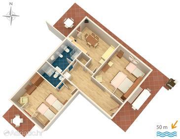 Apartment A-5804-a - Apartments Zadar - Diklo (Zadar) - 5804