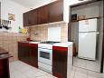 Kitchen - Apartment A-581-a - Apartments Uvala Torac (Hvar) - 581