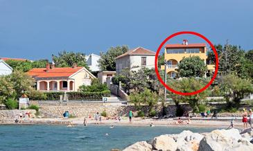 Property Vinjerac (Zadar) - Accommodation 5824 - Apartments near sea with sandy beach.