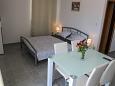 Biograd na Moru, Bedroom u smještaju tipa studio-apartment, dopusteni kucni ljubimci i WIFI.