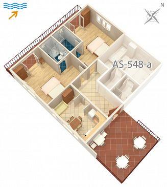 Apartament A-584-a - Apartamenty Jelsa (Hvar) - 584