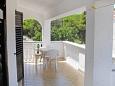 Terrace - Apartment A-5843-a - Apartments Privlaka (Zadar) - 5843
