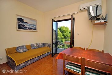 Vrsi - Mulo, Living room u smještaju tipa apartment, WIFI.