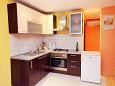 Privlaka, Kitchen u smještaju tipa apartment, dopusteni kucni ljubimci i WIFI.