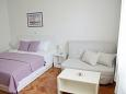 Bedroom - Studio flat AS-5856-a - Apartments Zadar - Diklo (Zadar) - 5856