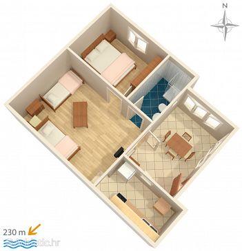 Apartment A-5879-c - Apartments Zadar - Diklo (Zadar) - 5879