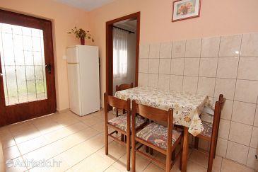 Rtina - Stošići, Dining room u smještaju tipa apartment, dopusteni kucni ljubimci i WIFI.