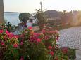 Rtina - Stošići, Zadar, Courtyard 5883 - Apartments blizu mora with pebble beach.