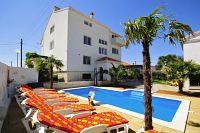 Апартаменты и комнаты с бассейном Sukošan (Zadar) - 5906