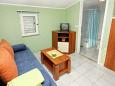Zadar - Diklo, Living room u smještaju tipa apartment, dostupna klima i WIFI.