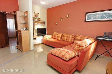 Bibinje, Living room u smještaju tipa apartment, WIFI.