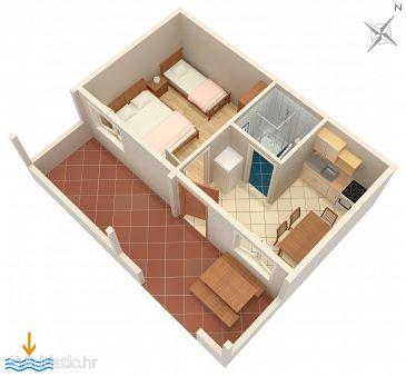 Apartment A-5946-b - Apartments Vinišće (Trogir) - 5946