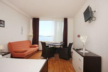 Orebić, Dining room u smještaju tipa studio-apartment, WIFI.
