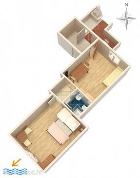 Apartment A-6003-a - Apartments Omiš (Omiš) - 6003