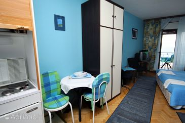 Studio flat AS-6004-c - Apartments Lokva Rogoznica (Omiš) - 6004