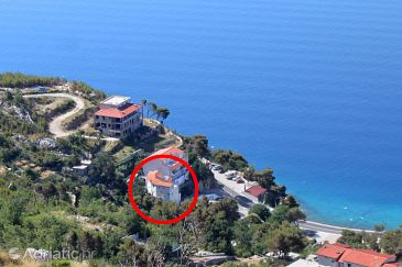 Property Lokva Rogoznica (Omiš) - Accommodation 6004 - Apartments near sea with pebble beach.