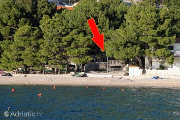 Property Brela (Makarska) - Accommodation 6007 - Apartments near sea with pebble beach.