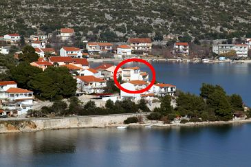 Property Poljica (Trogir) - Accommodation 6020 - Apartments near sea with pebble beach.