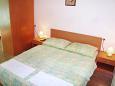 Komarna, Bedroom u smještaju tipa studio-apartment.