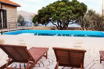 Property Postira (Brač) - Accommodation 6054 - Vacation Rentals near sea with pebble beach.