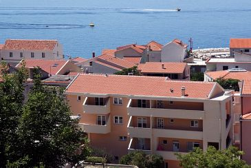 Property Tučepi (Makarska) - Accommodation 6058 - Apartments and Rooms near sea with pebble beach.