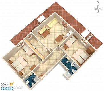 Apartment A-6070-a - Apartments Nemira (Omiš) - 6070