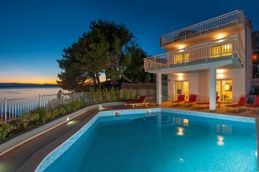 Property Medići (Omiš) - Accommodation 6071 - Vacation Rentals near sea with pebble beach.
