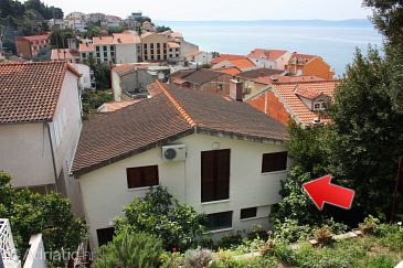 Property Podgora (Makarska) - Accommodation 6082 - Apartments near sea with pebble beach.