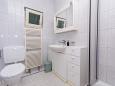Seget Vranjica, Bathroom 2 u smještaju tipa apartment, WIFI.